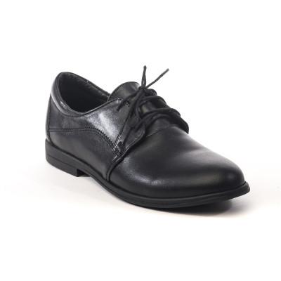 1836-01 туфли детские (черный, кожа)