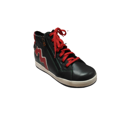 1445-02/з ботинки детские ( зеленый, кожа)