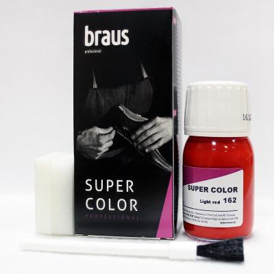 BRAUS Краситель д/кожи SUPER COLOR 25 мл (темно-зеленый133)