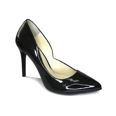 1950 туфли женские (черный, наплак)