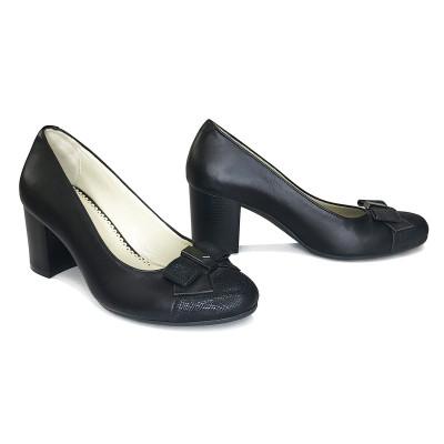 2188 Туфли женские (черный, кожа)