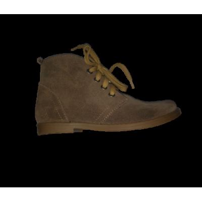 1442-02 ботинки детские ( бежев, велюр)