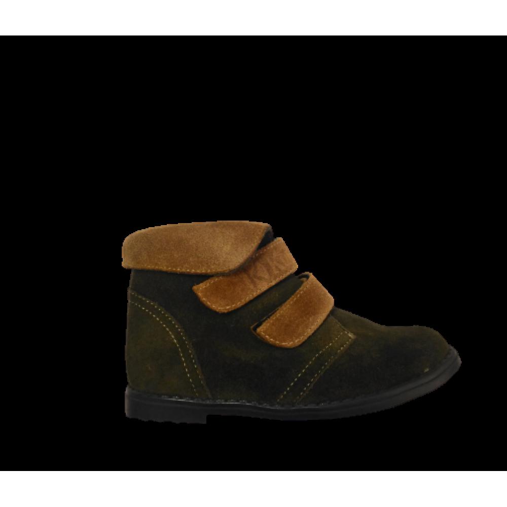 1443-01 ботинки детские ( хаки, велюр)