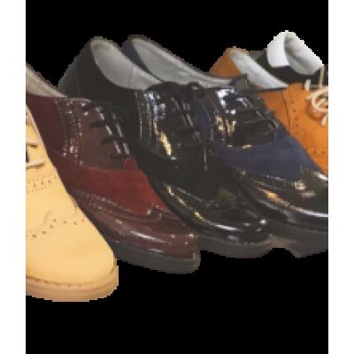 1427-02 туфли детские (черный, лак/велюр)