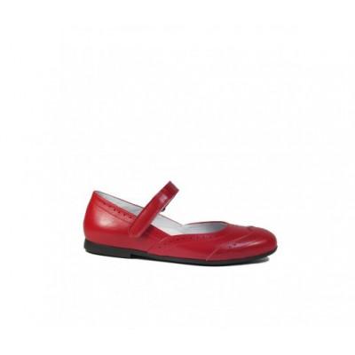 1517-02 туфли детские ( бордо, кожа)