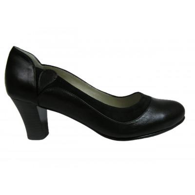 1315 туфли женские (черный, кожа)